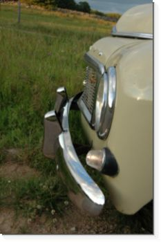Volvo PV Stainless Steel Bumper Set available