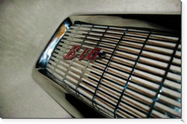 Volvo PV Stainless Steel B18 grill badge