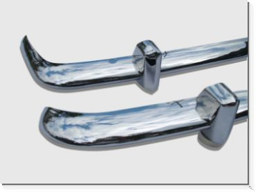 Karmann Stainless Steel Bumpers Euro Style 1956-1966