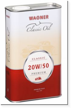 Wagner 20W50 Multi-Grade Premium Engine Oil for Classic Cars