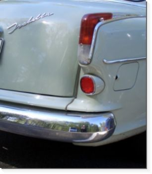 Borgward Isabella Stainless Steel Bumper Set