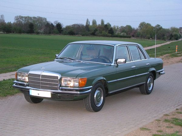 Mercedes S-Klasse W116 Bumper Set front and rear